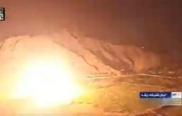 Nhiều địa điểm tại Iraq trúng rocket