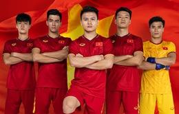 U23 Việt Nam sẽ trình làng mẫu áo mới trong trận gặp U23 UAE ngày 10/1