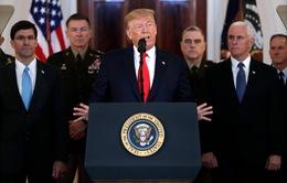 Tổng thống Donald Trump: Chừng nào tôi còn là Tổng thống Mỹ, Iran không được phép có vũ khí hạt nhân