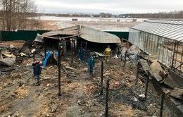Bộ Ngoại giao cập nhật tình hình vụ cháy trang trại tại quận Ramenskoye, ngoại ô Moscow