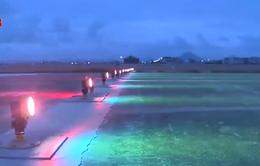 Phú Yên: Sân bay Tuy Hoà đầu tư hệ thống đèn đêm phục vụ bay quốc tế và bay đêm