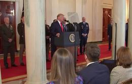 Tổng thống Donald Trump hạ nhiệt căng thẳng Mỹ - Iran