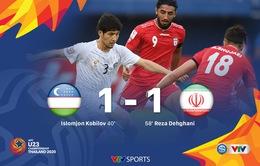 VIDEO Highlights: U23 Uzbekistan 1-1 U23 Iran (Bảng C Vòng chung kết U23 châu Á 2020)