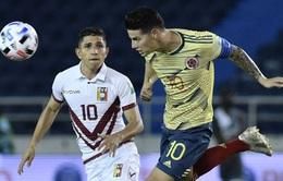 Colombia 3-0 Venezuela: Colombia mở màn thành công tại VL World Cup 2022 khu vực Nam Mỹ