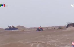 Quảng Trị cứu hộ các thuyền viên gặp nạn trên biển