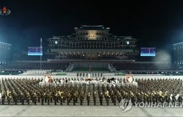 Triều Tiên phô diễn vũ khí quân sự tại lễ duyệt binh quy mô lớn