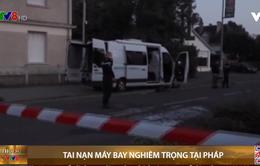 Tai nạn máy bay nghiêm trọng tại Pháp
