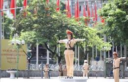 Phân luồng giao thông phục vụ Đại hội Đảng bộ TP Hà Nội
