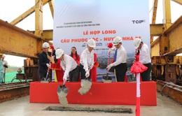 Hợp long cầu Phước Lộc sau hơn 7 năm vướng mặt bằng