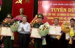 Quảng Trị: Trao thưởng cho tập thể, cá nhân đã cứu nạn thuyền viên