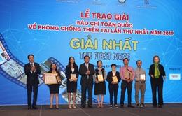 Đài THVN đạt giải Nhất và Nhì Giải Báo chí toàn quốc về Phòng chống thiên tai