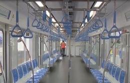 Bên trong toa tàu Metro đầu tiên ở TP.HCM