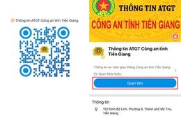 Tuyên truyền an toàn giao thông qua Zalo tại Tiền Giang