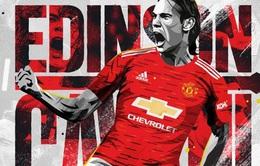 Edinson Cavani vẫn chưa xác định ngày ra mắt tại Manchester United