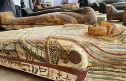 Phát hiện 59 quan tài 2600 tuổi ở Ai Cập