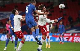 Harry Maguire nhận thẻ đỏ, ĐT Anh thua Đan Mạch ngay trên sân nhà (UEFA Nations League 2020/21)