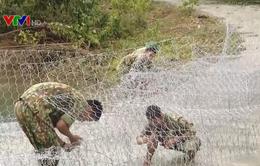 Sạt lở thủy điện Rào Trăng 3: Gia cố ngầm tràn bảo đảm an toàn công tác cứu hộ, cứu nạn