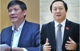 Trình Quốc hội phê chuẩn bổ nhiệm Bộ trưởng Bộ Y tế, Bộ trưởng Bộ Khoa học và Công nghệ mới