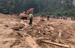 Tìm thấy 3 thi thể tại vị trí đoàn công tác bị vùi lấp ở khu vực Tiểu khu 67