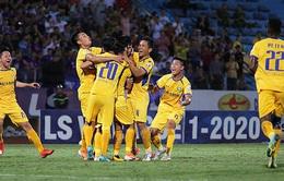 Kết quả Sông Lam Nghệ An 1–0 CLB Hải Phòng: Peter lập công phút bù giờ, SLNA trụ hạng thành công!
