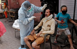 Tỷ lệ tử vong vì COVID-19 tại Ấn Độ thấp nhất kể từ tháng 3