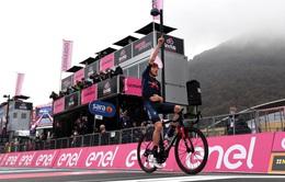 Chặng 15 giải đua xe đạp Giro D'Italia: Tao Geoghegan Hart về nhất chặng, Joao Almeida vẫn giữ áo hồng