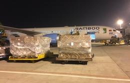 Các hãng hàng không đồng loạt vận chuyển miễn phí hàng cứu trợ ra vùng lũ lụt