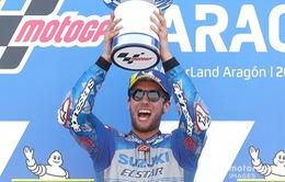 Alex Rins về nhất tại GP Aragon
