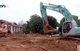 Tổng lực tìm kiếm nạn nhân sạt lở đất tại Hướng Hóa