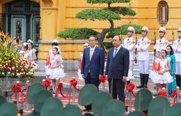 [INFOGRAPHIC] Quan hệ Đối tác chiến lược sâu rộng Việt Nam và Nhật Bản