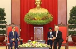 Tổng Bí thư, Chủ tịch nước: Thủ tướng Nhật Bản chọn đến thăm Việt Nam thể hiện sự coi trọng đặc biệt