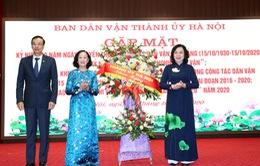 Hà Nội kỷ niệm 90 năm truyền thống công tác dân vận