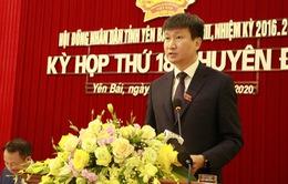 Ông Trần Huy Tuấn được bầu làm Chủ tịch UBND tỉnh Yên Bái