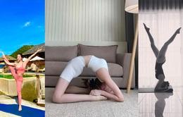 """""""Tròn mắt"""" trước loạt ảnh Yoga của Chi Pu, Thiều Bảo Trâm và các sao Việt"""