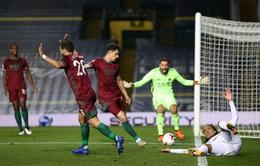 Leeds Utd 0-1 Wolverhampton: Leeds đứt mạch bất bại tại Premier League