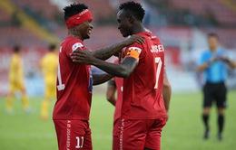 Kết quả CLB Hải Phòng 2-0 CLB Thanh Hoá: Mpande lập cú đúp, CLB Hải Phòng thắng thuyết phục