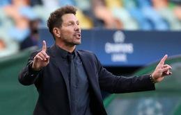 Thua đậm Bayern, HLV Simeone vẫn lạc quan