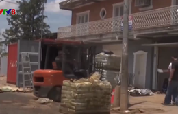 Phát hiện 7 tử thi trong một container ở Paraguay