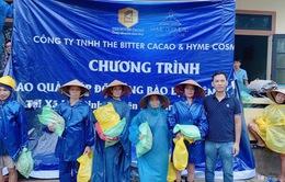 """The Bitter Cacao trao tặng hơn 700 phần quà cho """"khúc ruột"""" miền Trung"""
