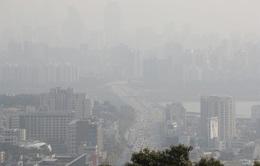 Thủ đô của Hàn Quốc ra khuyến cáo y tế từ bụi mịn