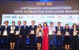 FPT lọt Top 50 thương hiệu nhà tuyển dụng hấp dẫn nhất năm 2020