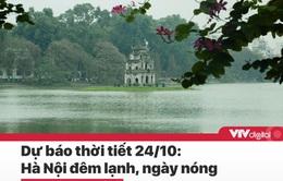 Tin nóng đầu ngày 24/10: Bão số 8 giật cấp 13, Hà Nội ngày nóng, đêm lạnh