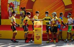 """Giải xe đạp VTV Cúp Tôn Hoa Sen 2020 chung tay """"Hướng về miền Trung thân yêu"""""""
