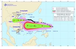 Bão số 8 chưa qua, áp thấp nhiệt đới mới đã mạnh lên thành bão