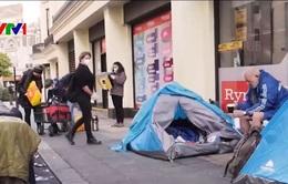 Anh sẽ không tiếp nhận người vô gia cư từ châu Âu