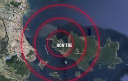 Điều tàu hải quân tìm kiếm 3 tàu cá gặp nạn trên đường tránh bão số 9