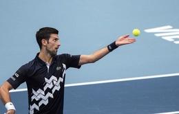 Giải quần vợt Vienna mở rộng: Novak Djokovic ra quân thuận lợi!