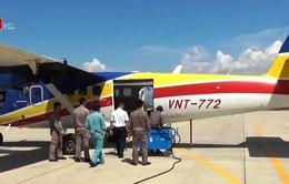 Điều 3 tàu và thủy phi cơ ra cứu hộ tàu cá Bình Định gặp nạn