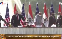Ngoại trưởng Mỹ Pompeo thăm chính thức Việt Nam từ 29-10