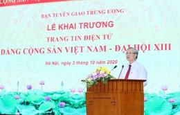 Ra mắt Trang tin điện tử Đảng Cộng sản Việt Nam - Đại hội XIII